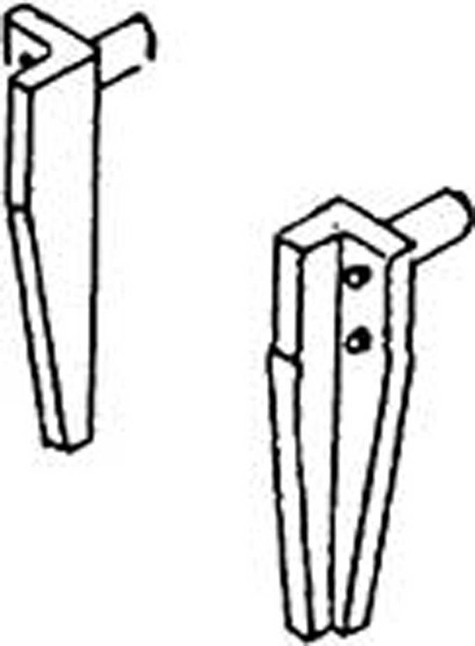 Märklin E410137 Schienenräumer 2 Stück