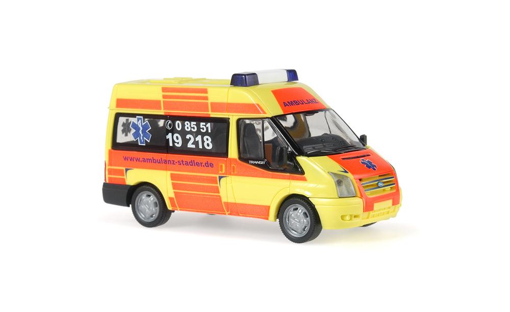 Rietze Ford TRansitz '06 Verwaltung Rettungsd CGDIS 52537 LU Luxemburg