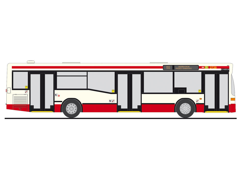 75216 Rietze Stadtbus Mercedes-Benz O 405 N2  De Lijn BE