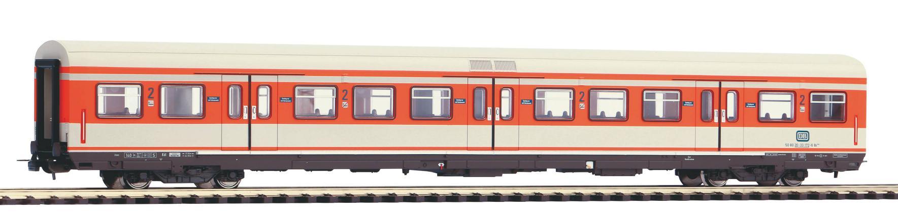 PIKO 58506 S-Bahn x-wagen Steuerwagen 2 DB AG verkehrsrot DC H0 Kl