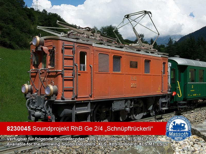 RhB ABe 4//4 II Massoth 8230240 eMOTION XLS