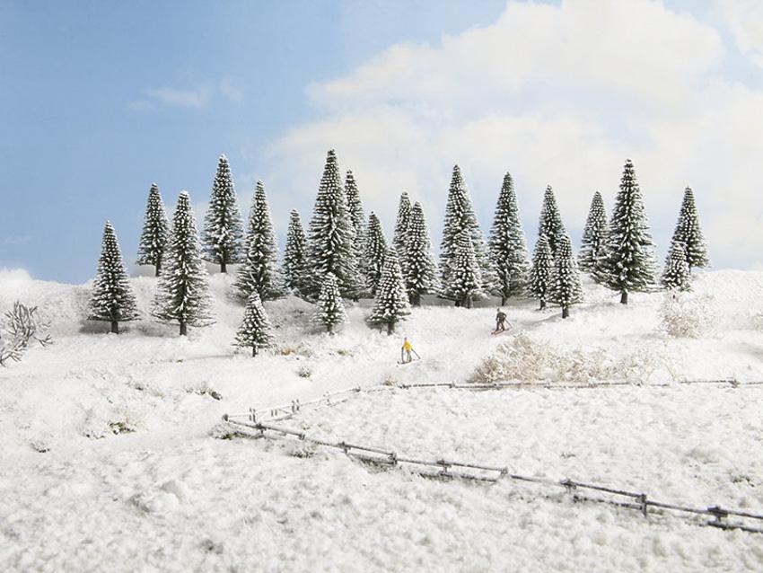 5-9 cm hoch NOCH 26906 Frühlingsbäume 10 Stück
