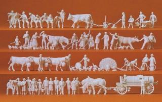 Preiser H0 14411  Schafherde mit 60 Schafen und Schafinnen