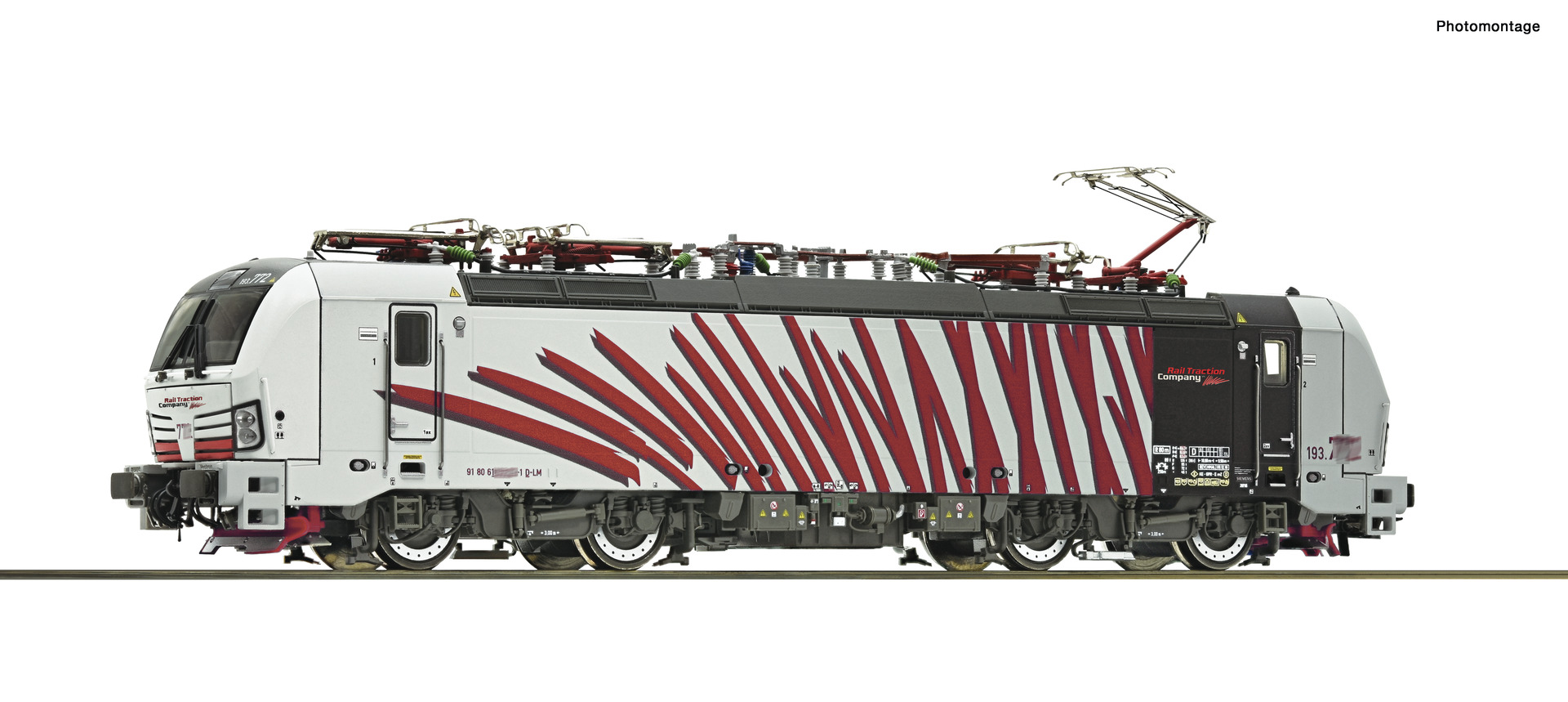 Märklin 3172 DB E-Lok BR 111 069-1 DEMO-Zug-Lok Analog OVP Spur H0